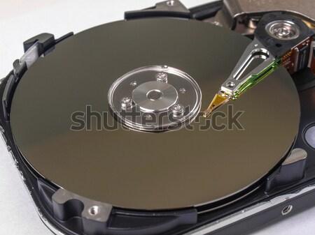 Pc merevlemez mágneses vezetés adattárolás technológia Stock fotó © claudiodivizia