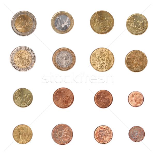 Euro coin - France Stock photo © claudiodivizia