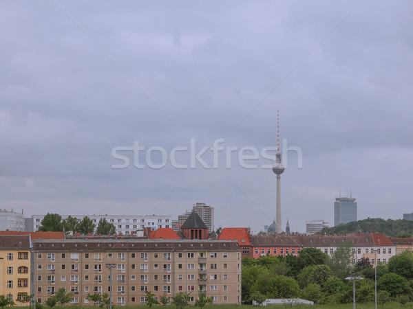 TV Tower Berlin Stock photo © claudiodivizia