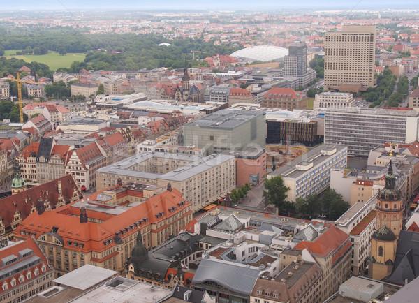 Leipzig aerial view Stock photo © claudiodivizia