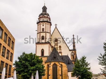 église Allemagne courant emplacement Europe grave Photo stock © claudiodivizia