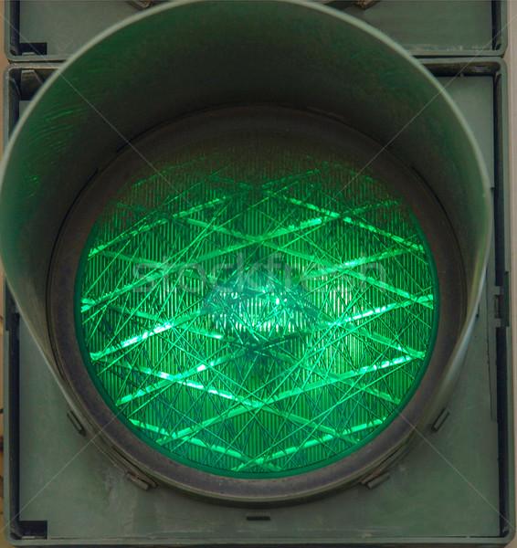 Green Light Stock photo © claudiodivizia