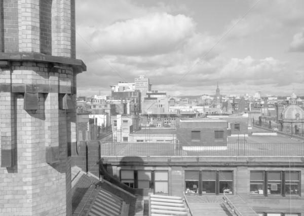 Glasgow città Scozia panorama view Foto d'archivio © claudiodivizia