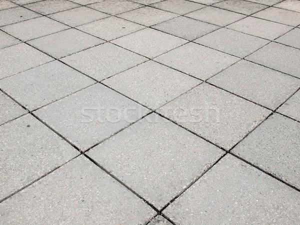 конкретные тротуаре тротуар полезный здании строительство Сток-фото © claudiodivizia