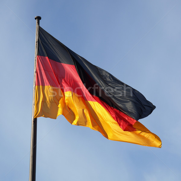 German flag Stock photo © claudiodivizia