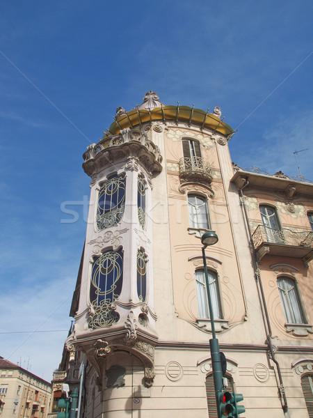 Casa Fleur Fenoglio, Turin Stock photo © claudiodivizia