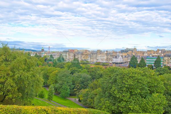 エディンバラ 表示 市 スコットランド ストックフォト © claudiodivizia