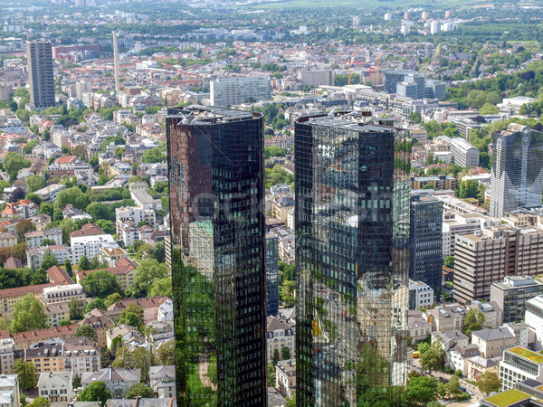 Frankfurt principal Alemanha Foto stock © claudiodivizia