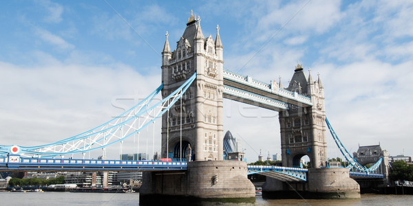 Stok fotoğraf: Tower · Bridge · Londra · nehir · thames · su · kule