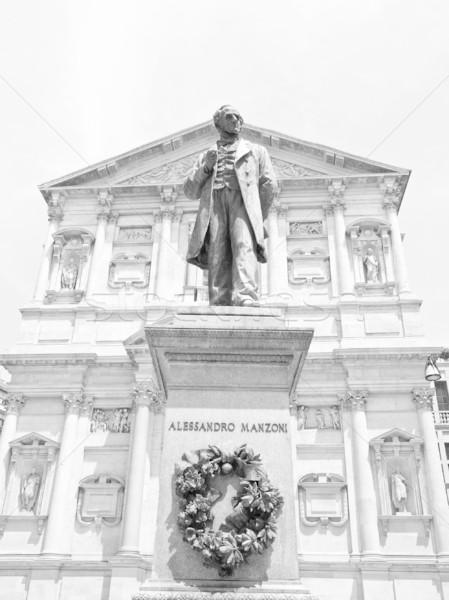 像 ミラノ ライター 教会 イタリア 宗教 ストックフォト © claudiodivizia