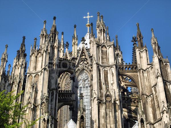 Katedrális gótikus templom parfüm Németország magas Stock fotó © claudiodivizia