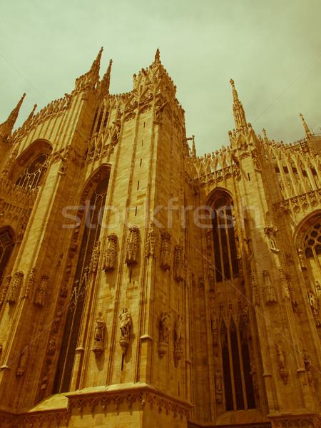 ретро глядя Милан Vintage посмотреть Сток-фото © claudiodivizia