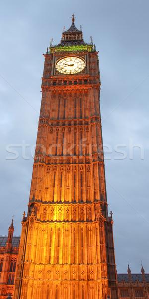 Big Ben casas parlamento westminster palácio Londres Foto stock © claudiodivizia