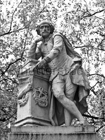 Shakespeare statue Stock photo © claudiodivizia