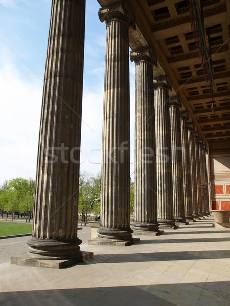 ベルリン 博物館 古美術品 年 ドイツ スカイライン ストックフォト © claudiodivizia