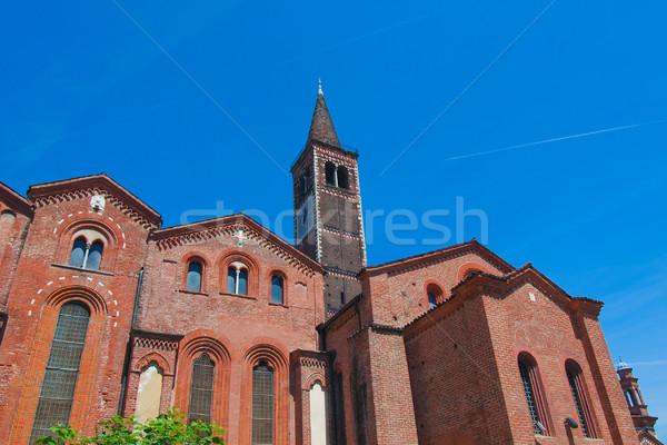Sant Eustorgio church, Milan Stock photo © claudiodivizia