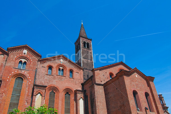 Igreja milan basílica Itália arquitetura europa Foto stock © claudiodivizia