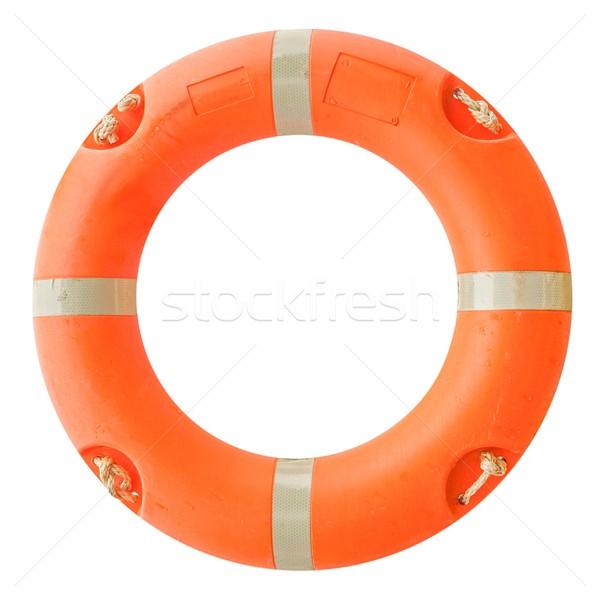 Salvavidas Foto aislado naranja agua mar Foto stock © claudiodivizia