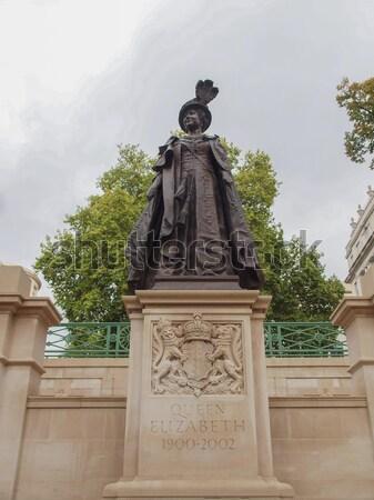 George and Elizabeth monument London Stock photo © claudiodivizia