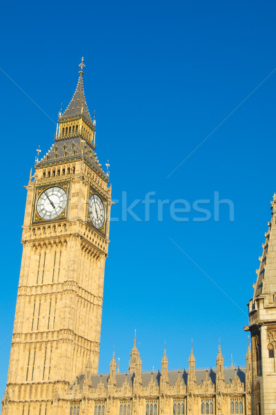 Big Ben Stock photo © claudiodivizia