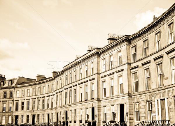 Terraced Houses Stock photo © claudiodivizia