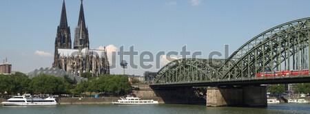 Koeln panorama Stock photo © claudiodivizia