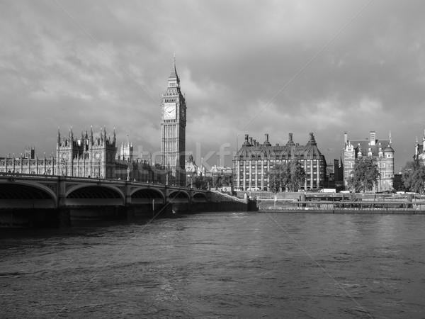 Westminster ponte panorama case parlamento Big Ben Foto d'archivio © claudiodivizia
