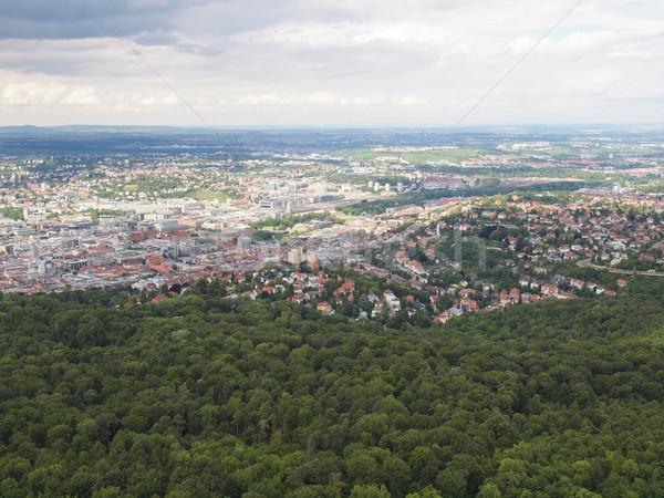 ドイツ 表示 市 スカイライン パノラマ 塔 ストックフォト © claudiodivizia