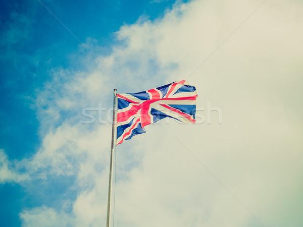 Retro look UK Flag Stock photo © claudiodivizia