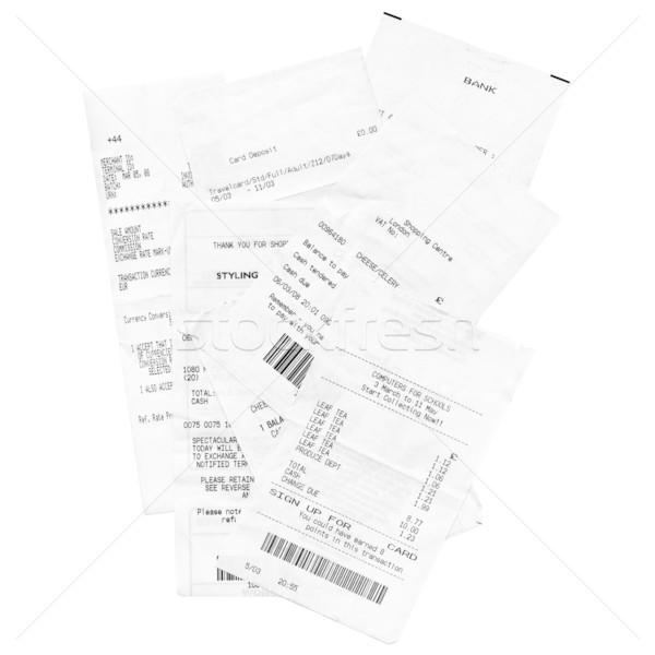 Receipts Stock photo © claudiodivizia