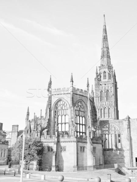 Katedrális templom Anglia építészet modern új Stock fotó © claudiodivizia