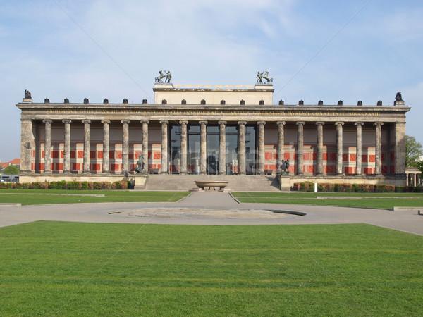 ベルリン 博物館 古美術品 年 ドイツ 市 ストックフォト © claudiodivizia