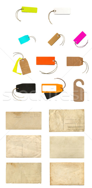 Stationery collage Stock photo © claudiodivizia