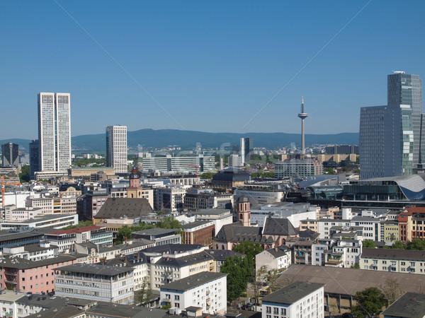 Francfort ville principale Allemagne Photo stock © claudiodivizia