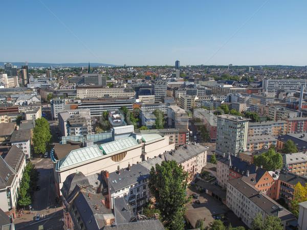 Photo stock: Francfort · ville · principale · Allemagne