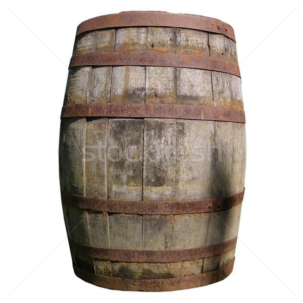 Legno barile vecchio whisky birra Foto d'archivio © claudiodivizia