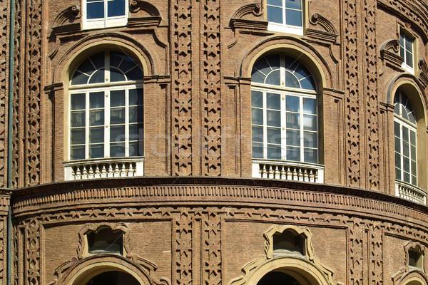 Palazzo Carignano, Turin Stock photo © claudiodivizia