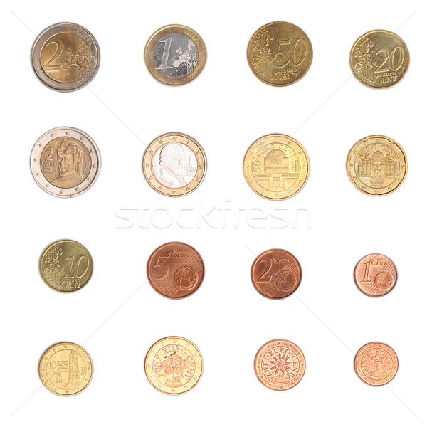 Euro coin - Austria Stock photo © claudiodivizia