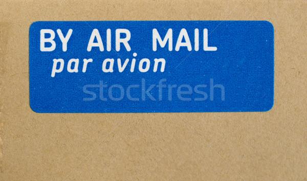 Havayolu mektup zarf hava posta nakliye Stok fotoğraf © claudiodivizia