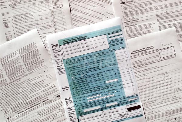 Tax forms Stock photo © claudiodivizia