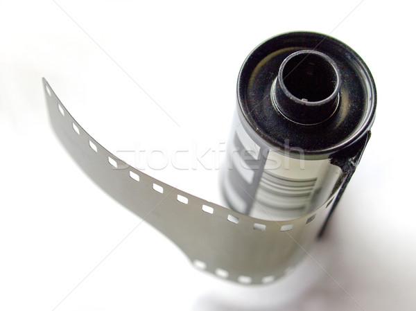 Película Foto vintage hoja marco Foto stock © claudiodivizia