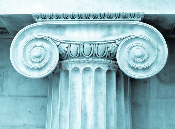 Ionica antica Grecia foto cool pietra Foto d'archivio © claudiodivizia