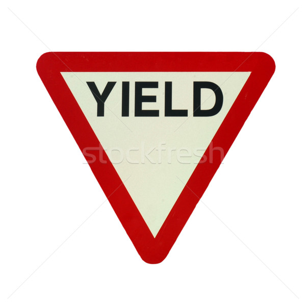 Yield Stock photo © claudiodivizia