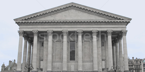 Tér Birmingham Anglia Egyesült Királyság klasszikus Európa Stock fotó © claudiodivizia