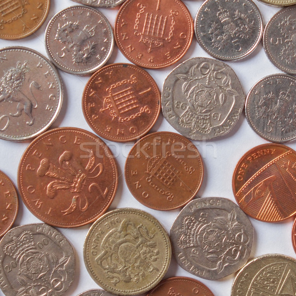 British Pound Stock photo © claudiodivizia