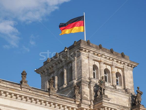 Берлин домах парламент Германия Сток-фото © claudiodivizia