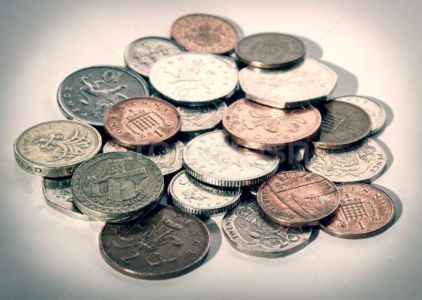Retro look Pounds picture Stock photo © claudiodivizia