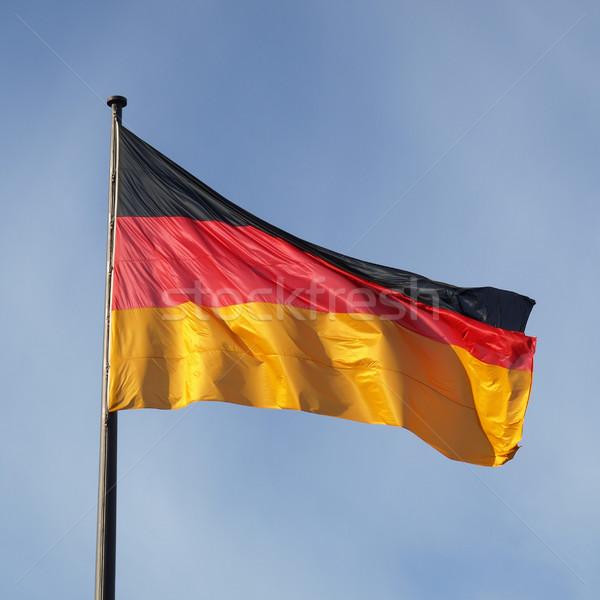 German flag Stock photo © claudiodivizia