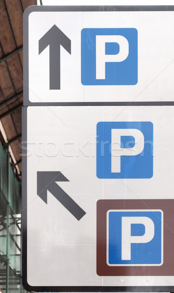 Parking sign Stock photo © claudiodivizia