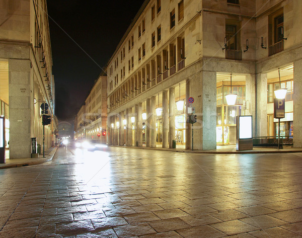 Via Roma, Turin Stock photo © claudiodivizia